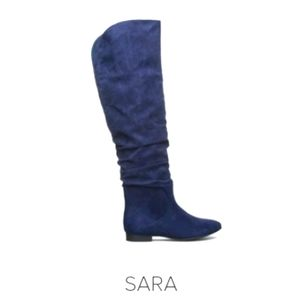 Sara OTK boots by ShoeDazzle